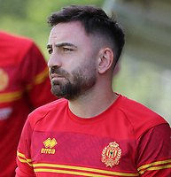 Onur Kaya (8) of KV Mechelen pictured during a friendly soccer game between KV Mechelen and the Greek Volos NFC during the preparations for the 2021-2022 season , on saturday 17 of July 2021 in GEEL , Belgium . PHOTO SEVIL OKTEM | SPORTPIX