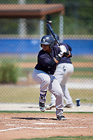 New York Yankees Ysaac Pena (4) during a Minor League Spring Training game against the Toronto Blue Jays on March 18, 2018 at Englebert Complex in Dunedin, Florida.  (Mike Janes/Four Seam Images)