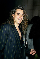 Montreal (Qc) CANADA - File Photo - October 1994 - Sylvain Cossette arriving  at the 1994 Adisq Gala.<br /> <br /> -Photo (c)  Images Distribution