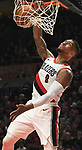 Apr 1, 2018; Portland, OR, USA; during the third quarter of the game at the Moda Center. The Blazers won 110-95. Mandatory Credit: Steve Dykes-USA TODAY Sports