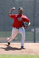 Yonata Ortega - Arizona Diamondbacks - 2009 spring training.Photo by:  Bill Mitchell/Four Seam Images