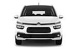Car photography straight front view of a 2018 Citroen Grand C4 Spacetourer Feel 5 Door MPV