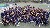 SYDNEY, AUSTRALIA - August 22, 2016:  Cal Bears Football team Australia trip.  Cal football team following the first practice in Sydney.