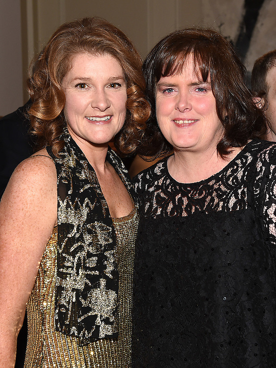 Orla Kearney and Mary O'Flynn pictured at the Ardee Traders Awards night in the Nuremore hotel Carrickmacross. Photo:Colin Bell/pressphotos.ie