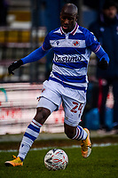 9th January 2021; Kenilworth Road, Luton, Bedfordshire, England; English FA Cup Football, Luton Town versus Reading; Sone Aluko of Reading.