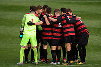 Chester, PA - Sunday December 10, 2017: Stanford University. Stanford University defeated Indiana University 1-0 in double overtime during the NCAA 2017 Men's College Cup championship match at Talen Energy Stadium.