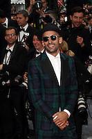 "FRA: ""THE BFG"" Red Carpet- The 69th Annual Cannes Film Festival - JR attend ""THE BFG"". Red Carpet during The 69th Annual Cannes Film Festival on May 14, 2016 in Cannes, France."
