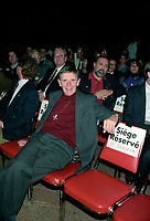FILE PHOTO - Doris Lussier , Parti Quebecois members and people against the NO in the 1992 Federal referendum gather at Arena Maurice-Richard, October 23, 1992<br /> <br /> Photo : Pierre Roussel - Agence Quebec Presse