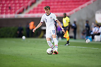 ZAPOPAN, MEXICO - MARCH 21: Sam Vines #13 of the United States moves with the ball during a game between Dominican Republic and USMNT U-23 at Estadio Akron on March 21, 2021 in Zapopan, Mexico.