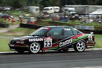 Round 10 of the 1991 British Touring Car Championship. #23 Kieth O'dor (GBR). Nissan Janspeed Racing. Nissan Primera eGT.