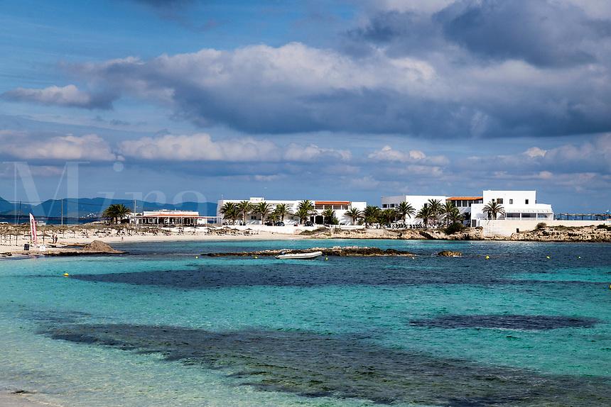 Charming hotel Roca Bella, Es Pujois, Formentera, Balearic Islands,, Spain.