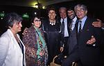 LUCIA MIRISOLA, CARLA FENDI , CANDIDO SPERONI , ROBERTO RUSSO E  LUIGI MAGNI,<br /> GLI 80 ANNI DI ALBERTO SORDI <br /> NOMINATO PER L'OCCASIONE SINDACO DI ROMA PER UN GIORNO - 15 GIUGNO 2000