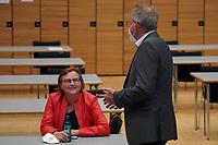 Christiane Böhm (LINKE) im Gespräch - Gross-Gerau 26.09.2021: Ergebnisse Bundestagswahl im Kreistag