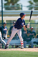 Atlanta Braves Jordan Rodgers (37) during a minor league Spring Training game against the Pittsburgh Pirates on March 13, 2018 at Pirate City in Bradenton, Florida.  (Mike Janes/Four Seam Images)