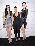 """Kylie Jenner,Kim Kardashian and Kendall Jenner at The Fragrance Launch event for """"Unbreakable by Khloe + Lamar"""" held at The Redbury Hotel in Hollywood, California on April 04,2011                                                                               © 2010 Hollywood Press Agency"""