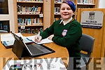 """Lily Eyers, student at Killorglin Community College who is preparing her project for the BT Young Scientist competition. The project title is """"An Investigation into the Knowledge, Attitudes & Behaviors towards Invisible Disabilities to create a wellbeing course for Secondary School Students."""