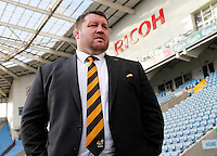 Photo: Richard Lane/Richard Lane Photography. Wasps Open Training Session at the Ricoh Arena ahead of their first game at the stadium. 16/12/2014. Dai Young.