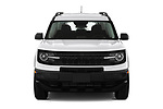 Car photography straight front view of a 2021 Ford Bronco-Sport Base 5 Door SUV Front View