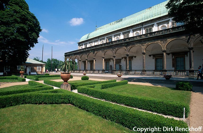 Lustschloss Belvedere im Koenigsgarten, Prag, Tschechien, Unesco-Weltkulturerbe.