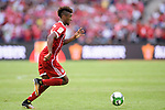 Bayern Munich Forward Kingsley Coman in action during the 2017 International Champions Cup China match between FC Bayern and AC Milan at Universiade Sports Centre Stadium on July 22, 2017 in Shenzhen, China. Photo by Marcio Rodrigo Machado/Power Sport Images
