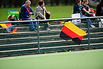 FRANKFURT AM MAIN, GERMANY - April 14: Fans during the Deutschland Lacrosse International Tournament match between Germany vs Great Britain during the on April 14, 2013 in Frankfurt am Main, Germany. Great Britain won, 10-9. (Photo by Dirk Markgraf)