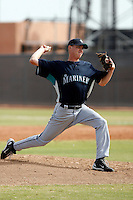 Kyle Haas - Seattle Mariners 2009 Instructional League .Photo by:  Bill Mitchell/Four Seam Images..