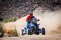 6th January 2021; Wadi Al Dawasir to Riyadh, Saudia Arabia; Dakar 2021 Rally, stage 4;  150 Cavigliasso Nicolas (arg), Yamaha, Dragon Rally Team, Motul, Quad, action during the 4th stage of the Dakar 2021 between Wadi Al Dawasir and Riyadh, in Saudi Arabia on January 6, 2021