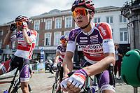Later winner Mathieu Van der Poel (NED/Beobank Corendon) pre race<br /> <br /> 2nd Dwars door het Hageland 2017 (UCI 1.1)<br /> Aarschot > Diest : 193km