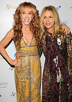 BEVERLY HILLS, CA, USA - NOVEMBER 21: Kathy Griffin, Rosanna Arquette arrive at Goldie Hawn's Inaugural 'Love In For Kids' Benefiting The Hawn Foundation's MindUp Program held at Ron Burkle's Green Acres Estate on November 21, 2014 in Beverly Hills, California, United States. (Photo by Celebrity Monitor)