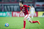 Guangzhou Defender Zou Zheng in action during the AFC Champions League 2017 Group G match between Guangzhou Evergrande FC (CHN) vs Suwon Samsung Bluewings (KOR) at the Tianhe Stadium on 09 May 2017 in Guangzhou, China. Photo by Yu Chun Christopher Wong / Power Sport Images