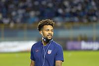 SAN SALVADOR, EL SALVADOR - SEPTEMBER 2: Konrad de la Fuente of the United States during a game between El Salvador and USMNT at Estadio Cuscatlán on September 2, 2021 in San Salvador, El Salvador.