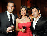 From left: Olivier Preuot, Marisa Zuniga and David Michael at the Endeavor for Hope Foundation's Annual Fundraising Gala Saturday May 09,2010.  (Dave Rossman Photo)