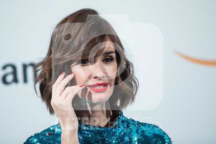Paz Vega poses during the inauguration of Amazon´s POP-UP at Callao cinemas<br /> November 27, 2019. <br /> (ALTERPHOTOS/David Jar)