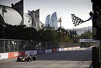 4th June 2021; Baku, Azerbaijan; Free practise sessions;  11 PEREZ Sergio mex, Red Bull Racing Honda RB16B during the Formula 1 Azerbaijan Grand Prix 2021 at the Baku City Circuit, in Baku, Azerbaijan