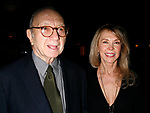 Neil Simon & Elaine Joyce attending  the Opening Night after party<br />for the New David Mamet Play NOVEMBER at Restaurant Bond 45 in New York City.<br />January 17, 2008