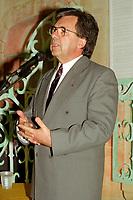 Montreal (qc) CANADA - file Photo - 1992 - <br /> Yvon Picotte speak at<br /> <br /> 'Union des Municipalites du Quebec convention in April -