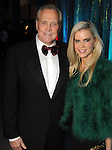 """Lee Majors and his wife Faith at the Houston Museum of Natural Science's """"Slither to the Sound: A Prehistoric Party"""" Saturday March 02, 2013.(Dave Rossman/ For the Chronicle)"""