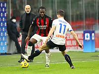 Milano  23-01-2021<br /> Stadio Giuseppe Meazza<br /> Campionato Serie A Tim 2020/21<br /> Milan - Atalanta<br /> nella foto:    Kessie                                                      <br /> Antonio Saia Kines Milano