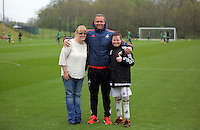 Pictured: Lee Trundle (C) Wednesday 11 May 2016<br />Re: Swansea City FC training at the club's Fairwood Training Ground in the outskirts of Swansea, south Wales, UK.