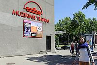 Muzikinis Theater in Klaipeda, Litauen, Europa