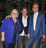 Rosemary Shrager, Matt Tebbutt and guest at the Fortnum & Mason Food and Drink Awards 2021, Fortnum & Mason at the Royal Exchange, Royal Exchange, Cornhill, on Thursday 09th September 2021 in London, England, UK. <br /> CAP/CAN<br /> ©CAN/Capital Pictures