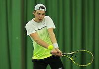 Rotterdam, The Netherlands, March 18, 2016,  TV Victoria, NOJK 14/18 years, Boris Spanjaard (NED)<br /> Photo: Tennisimages/Henk Koster