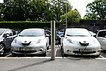 Elektroautos parken umsonst, 08/2014<br /> <br /> Engl.: Europe, Scandinavia, Norway, Oslo, electric cars can park here free of charge, automotive industry, environment, economy, August 2014