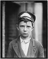 Richard Pierce, Western Union Telegraph Co. Messenger No. 2. 14 years of age. 9 months in service, works from 7 a.m, taken May 1910