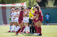 STANFORD, CA - SEPTEMBER 12: Andrea Kitahata before a game between Loyola Marymount University and Stanford University at Cagan Stadium on September 12, 2021 in Stanford, California.