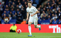 Federico Fernandez of Swansea City during the Barclays Premier League match between Leicester City and Swansea City played at The King Power Stadium, Leicester on April 24th 2016