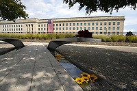 The Pentagon National 9/11 Memorial is seen in Washington on September 11, 2021. <br /> CAP/MPI/RS<br /> ©RS/MPI/Capital Pictures