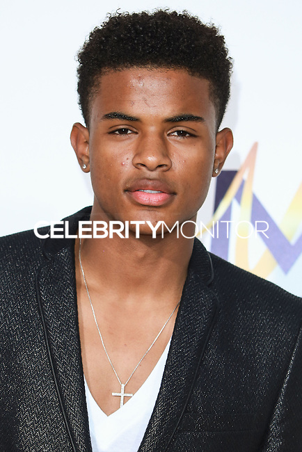 HOLLYWOOD, LOS ANGELES, CA, USA - JUNE 09: Trevor Jackson at the Los Angeles Premiere Of Screen Gems' 'Think Like A Man Too' held at the TCL Chinese Theatre on June 9, 2014 in Hollywood, Los Angeles, California, United States. (Photo by David Acosta/Celebrity Monitor)
