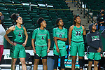 University of North Texas Mean Green Women's Basketball v University Southern Mississippi at Super Pit in Denton on February 12, 2021