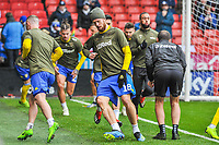 Leeds United's defender Pontus Jansson (18) during the Sky Bet Championship match between Sheff United and Leeds United at Bramall Lane, Sheffield, England on 1 December 2018. Photo by Stephen Buckley / PRiME Media Images.